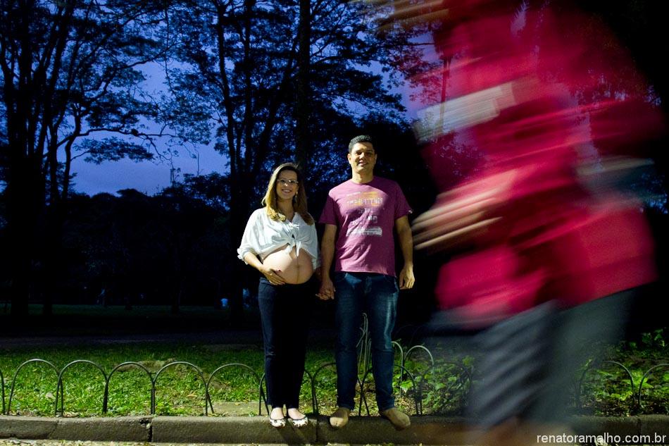 Ensaio Gestante | Daniela e Fábio à espera da Maria Clara | Parq