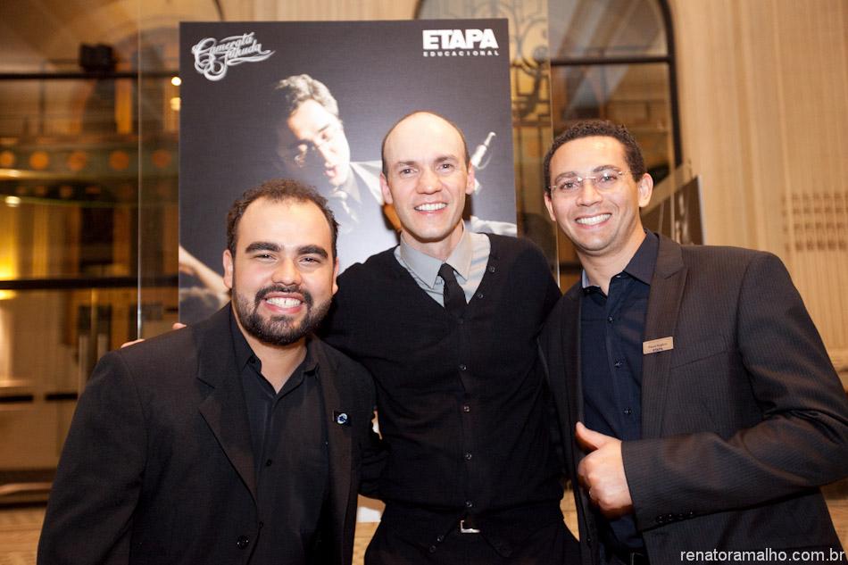 Murilo Cagliari, Renato Ramalho e Paulo Rogério