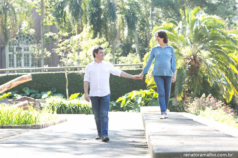 Ensaio Isleine e Antonio à espera da Luiza | Parque Burle Marx